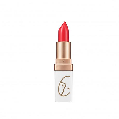 Son (Hàn Quốc) lì lâu trôi No1 (Đỏ san hô) _Javin De Seoul Flower For Me Velvet Lipstick - Red Coral 1 1