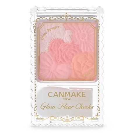 Phấn Má Hồng Canmake Glow Fleur Cheeks 1