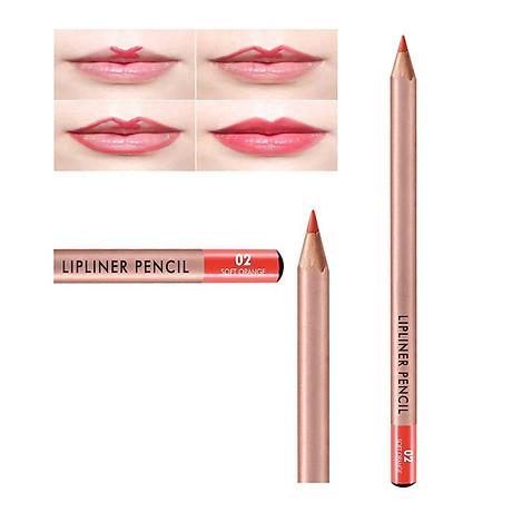 Chì Kẻ Viền Môi Vacosi Natural Studio Lipliner Pencil 1