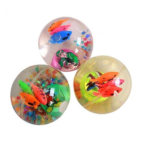 Quả bóng trong suốt có đèn và con cá đồ chơi cho bé PKS màu sắc ngẫu nhiên 3