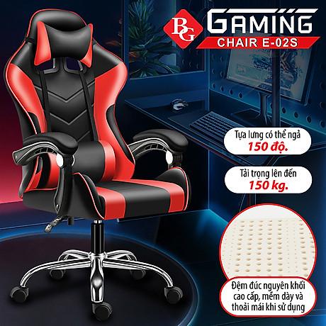 Ghế gaming cao cấp dành cho game thủ BG model mới E02-S (hàng nhập khẩu) 2
