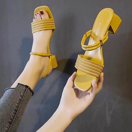 Giày cao gót đi 2 kiểu 1
