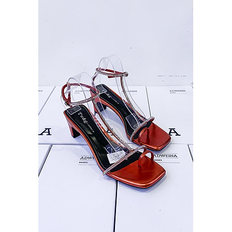 Giày Sandal Cao Gót 5p Quai Đá 2