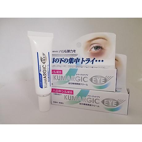 Combo 2 tuýp kem KUMARGIC EYE ngăn ngừa và giảm thâm quầng mắt hàng Nhật Nội Địa 1