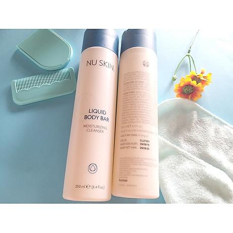 Sữa tắm Nuskin Liquid Body Bar Moisturizing Cleanser 250ml 4