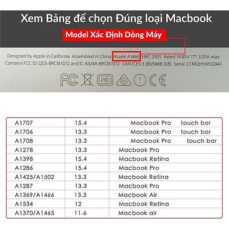 Lót bàn phím in chữ cho Macbook Alphabet Silicone Skin Keyboard - Hàng Chính Hãng 4