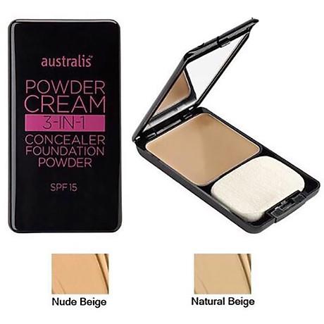 Phấn Nền Dạng Kem 3 Trong 1 Powder Cream Australis Úc 3