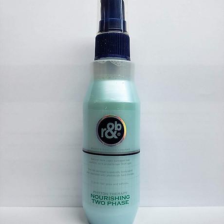 Nước xịt dưỡng tóc bóng mềm giữ ẩm bảo vệ phục hồi tóc bị hư tổn R&B Nourishing Two Phase, Hàn Quốc 250ml 2