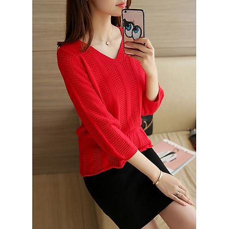 Áo len nữ nhẹ nhàng freesize Haint Boutique Al50 1