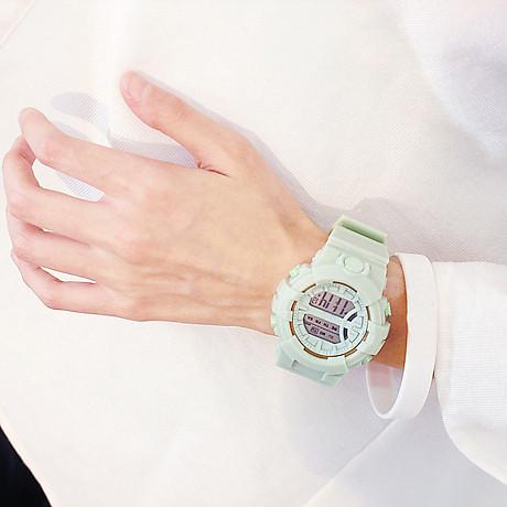 Đồng hồ điện tử nam và nữ KASAWI k562 Sports Đồng hồ Học sinh trung học cơ sở Hàn Quốc thể thao chống thấm nước- xem giờ điện tử - báo thức - bấm giờ thể thao - xem lịch ngày tháng thứ - Dây Silicone Bền Chắc 4
