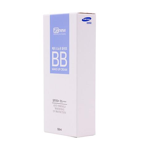 Kem nền trang điểm BB ma thuật che phủ hoàn hảo Hàn Quốc cao cấp Benew Magic Snow White SPF 50 PA+++ (50ml) Hàng chính hãng 8