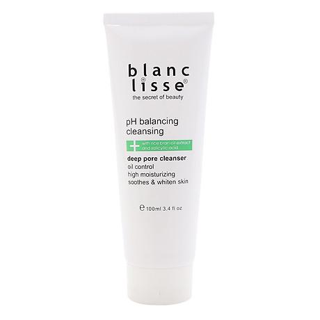 Gel Rửa Mặt Trắng Da BLANC LISSE - pH BALANCING CLEANSING 100mL 1