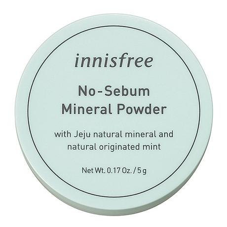 Phấn Phủ Kiềm Dầu Dạng Bột Khoáng Innisfree No Sebum Mineral Powder 5g - 131170490 1