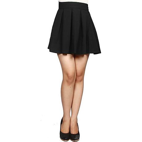 Chân váy xòe xếp ly dáng ngắn 2