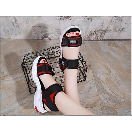 Giày Sandal nữ quai dán cá tính, năng động - SD69 5