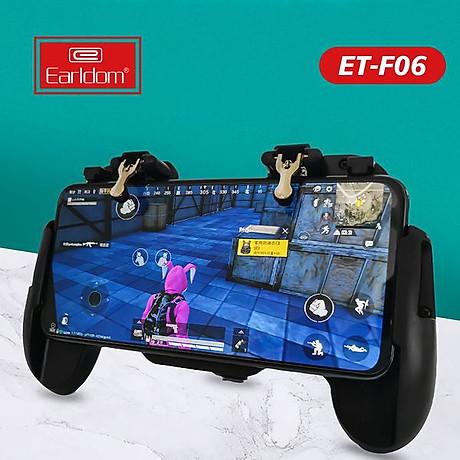Tay cầm chơi gane điện thoại ( 3 phiên bản) có tản nhiệt pubg freefire Ros kết nối ngón linh hoạt - Hàng chính hãng 4
