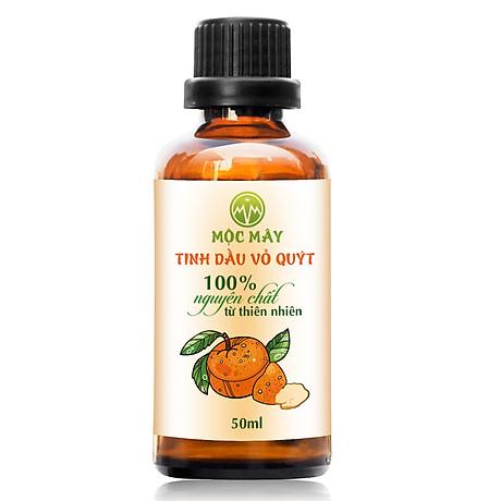 Tinh dầu Vỏ Quýt 50ml Mộc Mây - tinh dầu thiên nhiên nguyên chất Organic hữu cơ 100% - chất lượng và mùi hương vượt trội 1