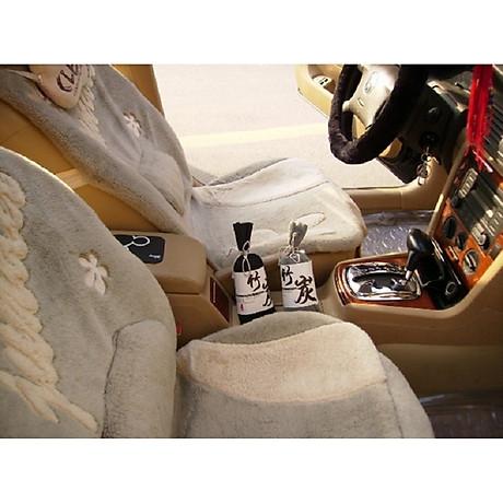 Túi Than Tre hoạt tính khử mùi, lọc không khí xe hơi, xe ôtô (màu sắc ngẫu nhiên) 8