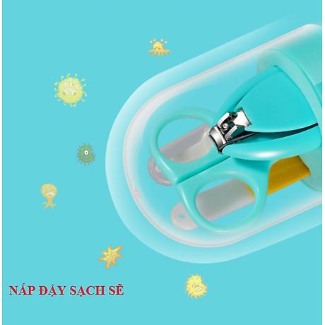 Bộ kềm vắt móng vệ sinh trẻ em, bé sơ sinh cao cấp BB18-BOCMT ( GIAO NGẪU NHIÊN) 5