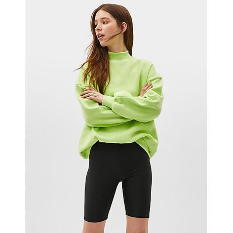 Quần legging đùi vải thun cotton dày cao cấp dùng cho đi chơi, đi tập thể thao, du lịch, mặc nhà 1