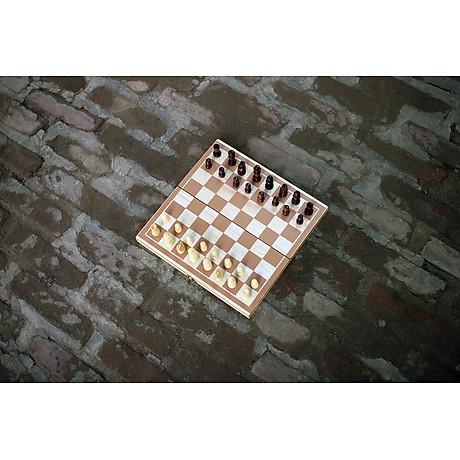 Bộ cờ vua gỗ cho trẻ em, đồ chơi giáo dục vận động an toàn giúp bé thông minh từ nhỏ 3