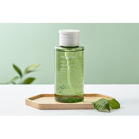 Nước tẩy trang từ trà xanh đảo Jeju Innisfree Green Tea Cleansing Water 300ml - NEW 3