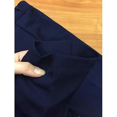 Quần baggy quần tây cạp chun sau lưng, vải tuyết mưa cao cấp 6
