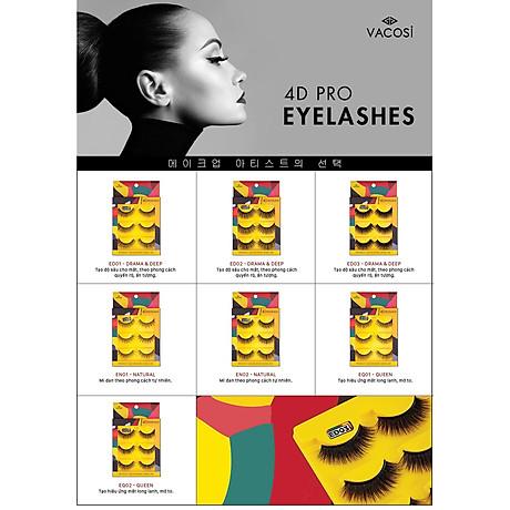 Lông Mi Giả Chuyên Nghiệp 4D - Vacosi 4D Pro Eyelash VM22 3