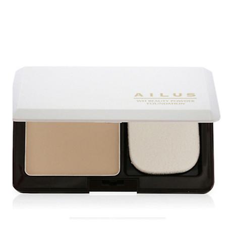 Phấn nền sáng da Naris Ailus WH Beauty Powder Foundation Nhật Bản 10g + Móc khóa 2