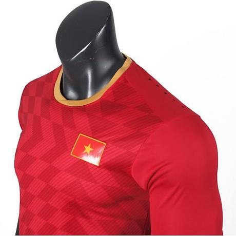 Quần Áo Đá Banh Nam Đội Tuyển Việt Nam Sea Game 30- chất vải Thun lạnh Polyester cao cấp , có lỗ thoáng khí , nhanh khô 4