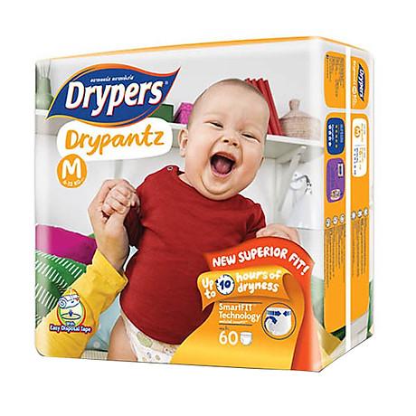 Tã Quần Drypers Drypantz Cực Đại M60 (60 Miếng) 4