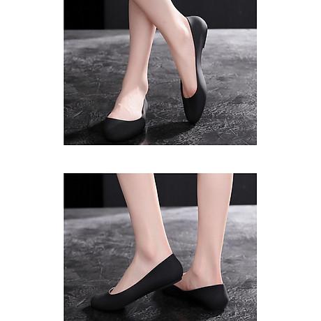 Giày nhựa đi mưa búp bê công sở đế mềm siêu nhẹ form chuẩn 182 3
