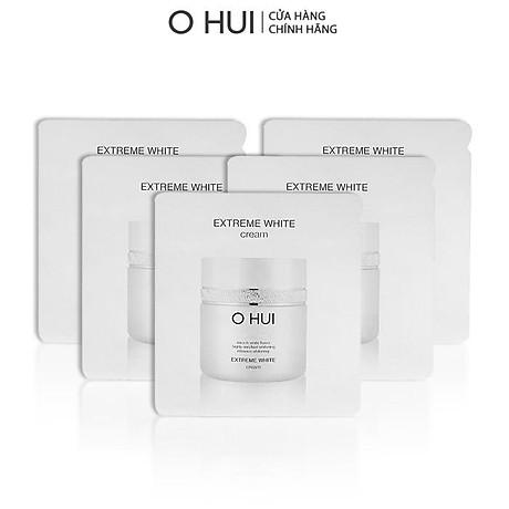 Bộ Tinh chất và Kem dưỡng trắng OHUI Extreme White 10x1ml gói-Gimmick 2