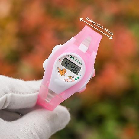 Đồng hồ điện tử UNISEX PAGINI TE02 Phong cách thể thao Trang trí các nhân vật hoạt hình cực dễ thương 6