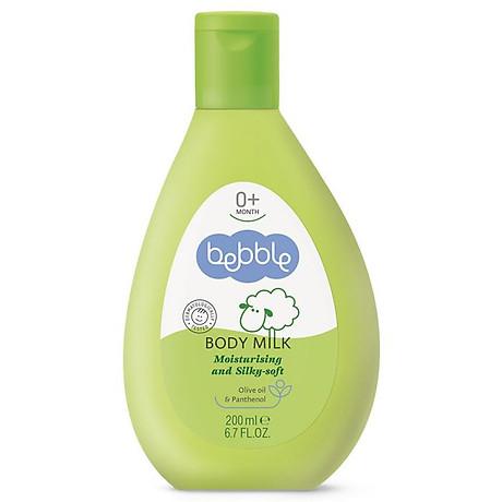 Sữa dưỡng ẩm toàn thân cho bé Bebble Body Milk 200ml 1