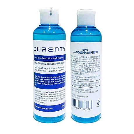 Sữa Rửa Mặt Đa Dụng Chiết Xuất Cây Thông Đỏ Curenty All in ONE Cleanser 210ml (Hàng Nhập Khẩu Cao Cấp) 1