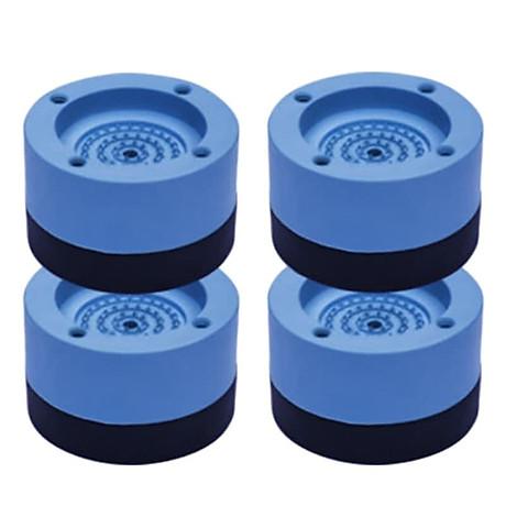 Đế chống rung máy giặt, chân máy giặt chân bàn 4 miếng cao su cao cấp, chống rung chống ồn chống trơn trượt (Giao màu ngẫu nhiên) 8