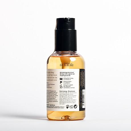 Combo dầu tẩy trang hoa hồng cocoon 140ml + Son dưỡng môi cocoon 5g 3