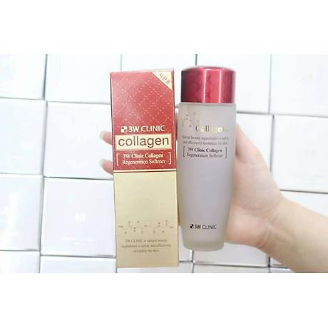 Nước hoa hồng 3w clinic collagen Regeneration Softener Hàn quốc 3