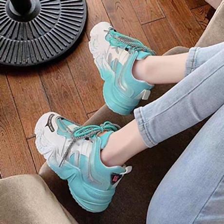 Giầy thể thao nữ Sneaker đế màu cực cá tính 2020 6