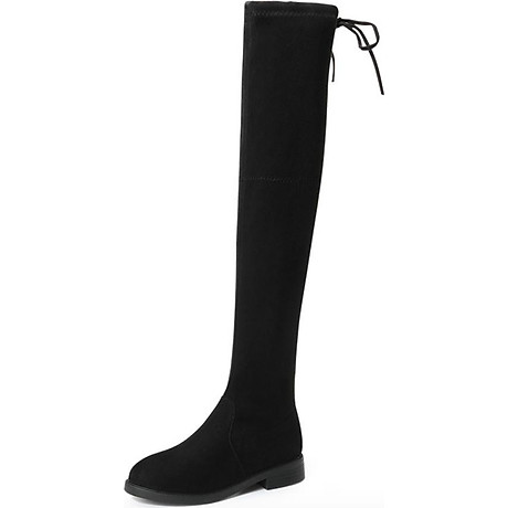 Boot nữ cổ cao đế trệt GCC28 2