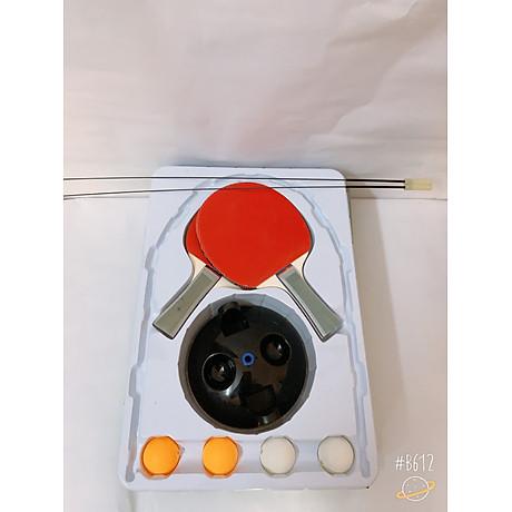 Bóng bàn phản xạ lắc lư cao cấp, không lo văng bóng hay lật đế - tặng kèm 1 dây đàn hồi carbon 69cm 4