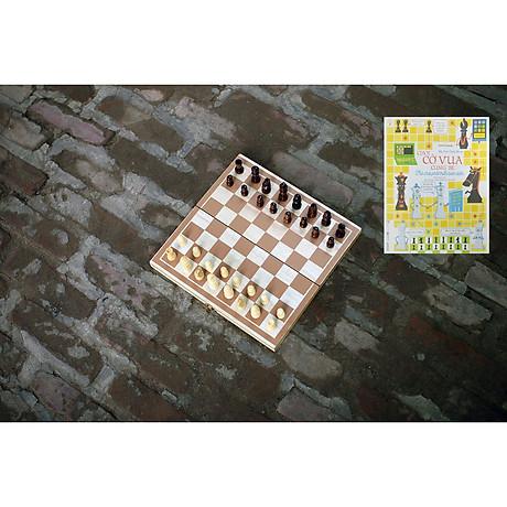 Bộ cờ vua cao cấp bằng gỗ tự nhiên an toàn cho bé, đồ chơi phát triển trí tuệ cho trẻ em - Tặng hướng dẫn đánh cờ vua giỏi. 1