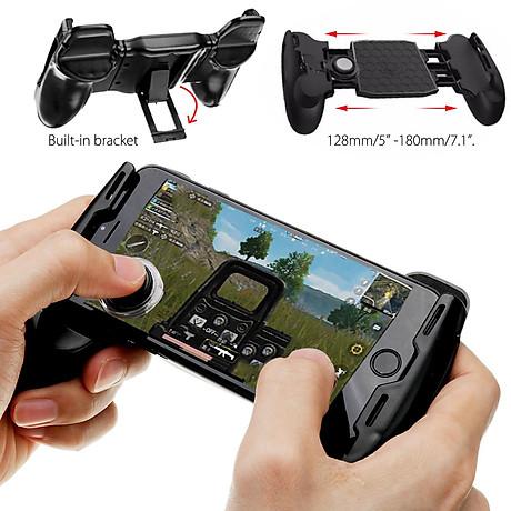 Tay cầm chơi game đẳng cấp game thủ cho smartphone JL01 (đen) Hàng chính hãng 3