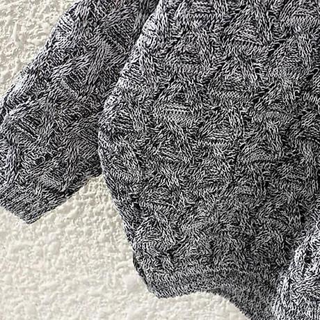 Áo len nữ tay lỡ cách điệu Haint Boutique AL17 4