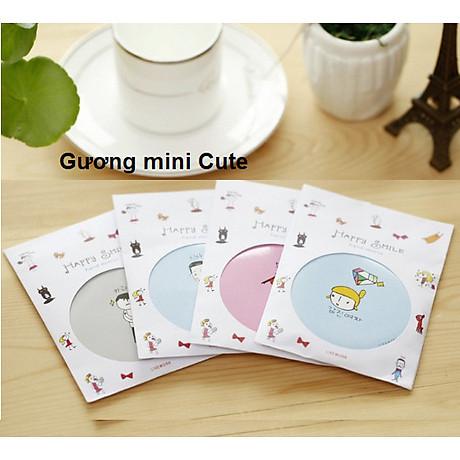 Combo 5 Gương mini bỏ túi siêu cute , nhỏ gọn xinh xắn thích hợp cho các bạn nữ có thể mang theo khắp mọi nơi GD222-GuongMN giao ngẫu nhiên 7