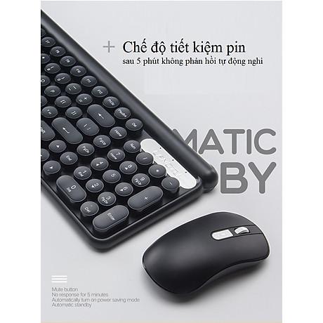 Bộ bàn phím và chuột không dây LT400 phiên bản sạc (tặng kèm lót chuột) - Hàng Nhập Khẩu 6