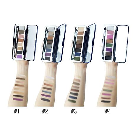 Phấn mắt 8 ô siêu mịn Mira Aroma Shadow Palette 8 Colors Hàn Quốc (2g x8) No.1 tặng kèm móc khoá 4