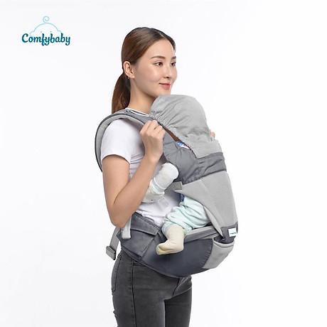 Địu ngồi cao cấp 4 tư thế chống vòng kiềng Comfy Baby 8