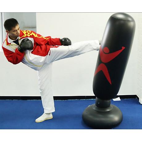 Bao trụ đấm bốc 2.0 PRO X tự cân bằng PVC, bao tập võ Boxing 4